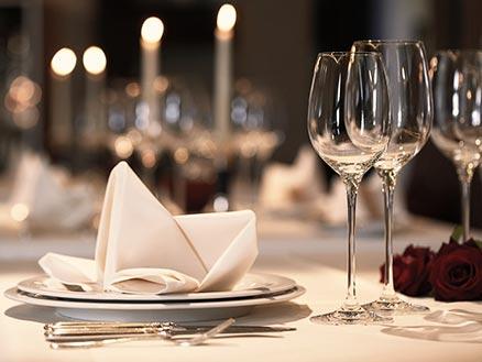 Valentins Candle-Light Dinner